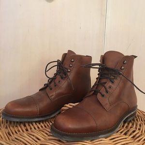 Vintage Coach leather boots